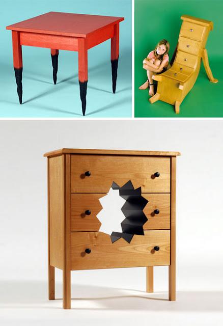 Diseño de muebles creativos
