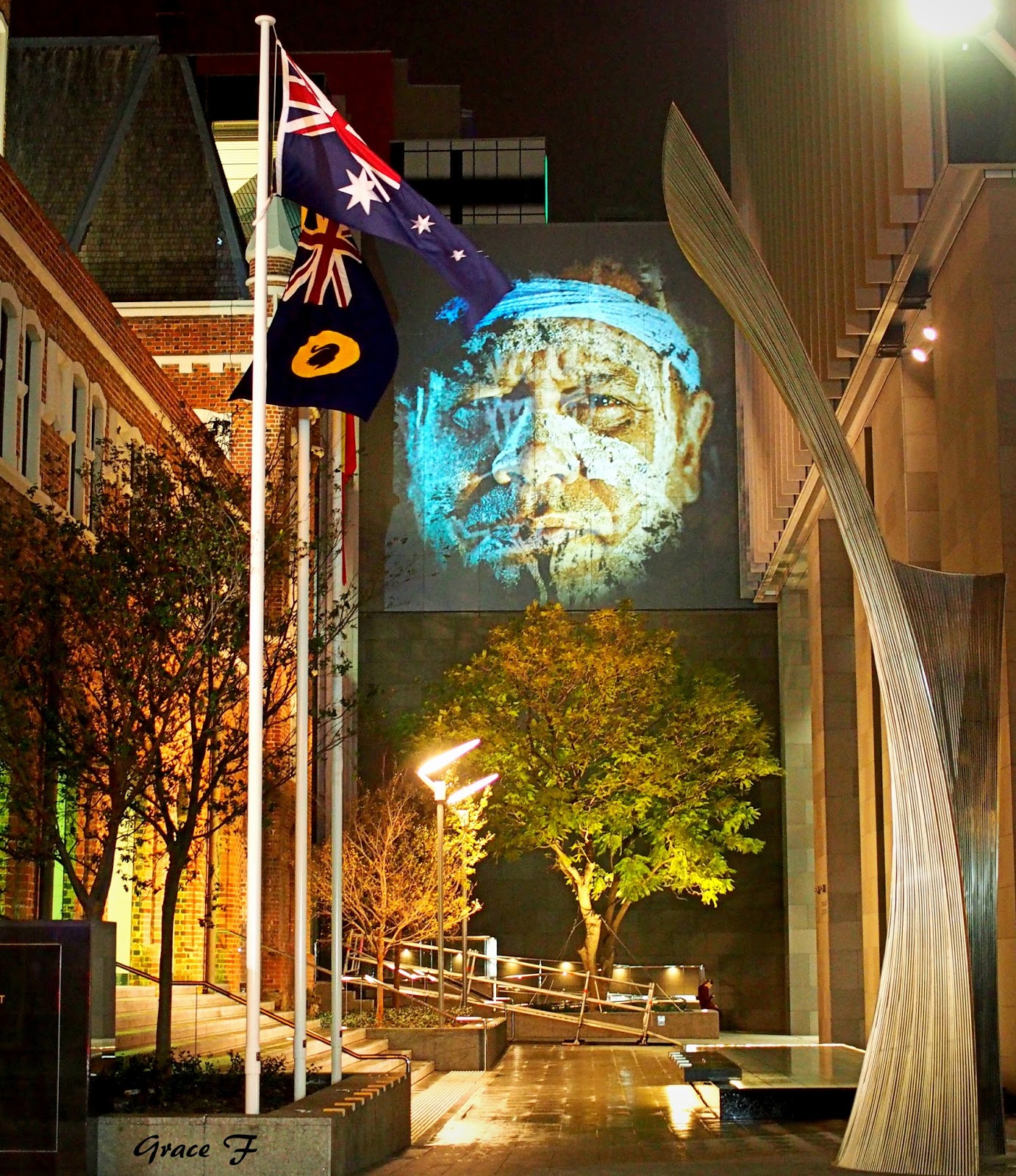 Wall Murals Perth Perth Daily Photo The Overlap Of Land