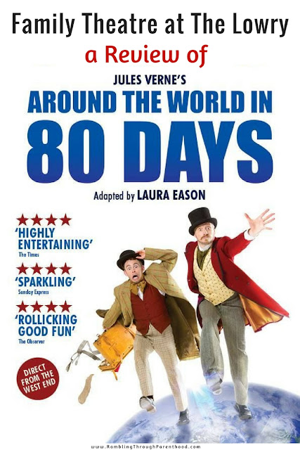 If terrific comedy and adventure stories are your thing, then Around The World in 80 Days is not to be missed. Playing now at The Lowry, this is family theatre at it's mesmerising best!