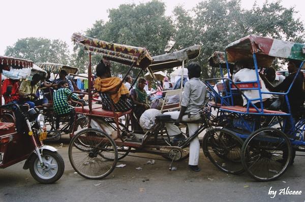 ricsa-bicicleta-old-Delhi
