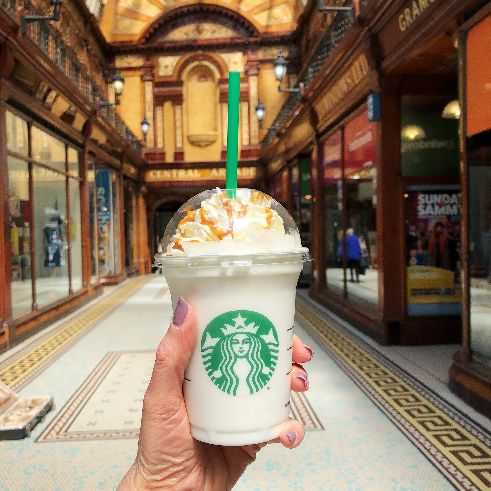 My May Days - Starbucks Frappuccino