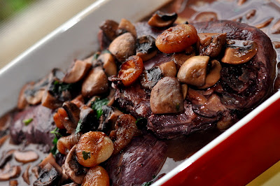 The JC100 - Julia Child's Coq au Vin - Photo by Michelle Judd of Taste As You Go