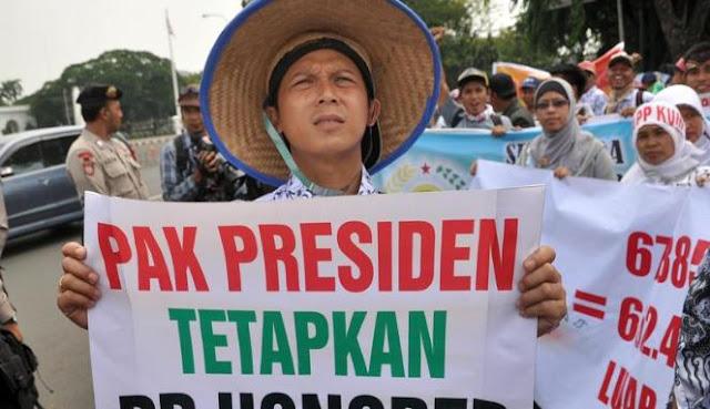 Pak Presiden, Forum Honorer Minta Bukti Program Nawacita Pemerintah