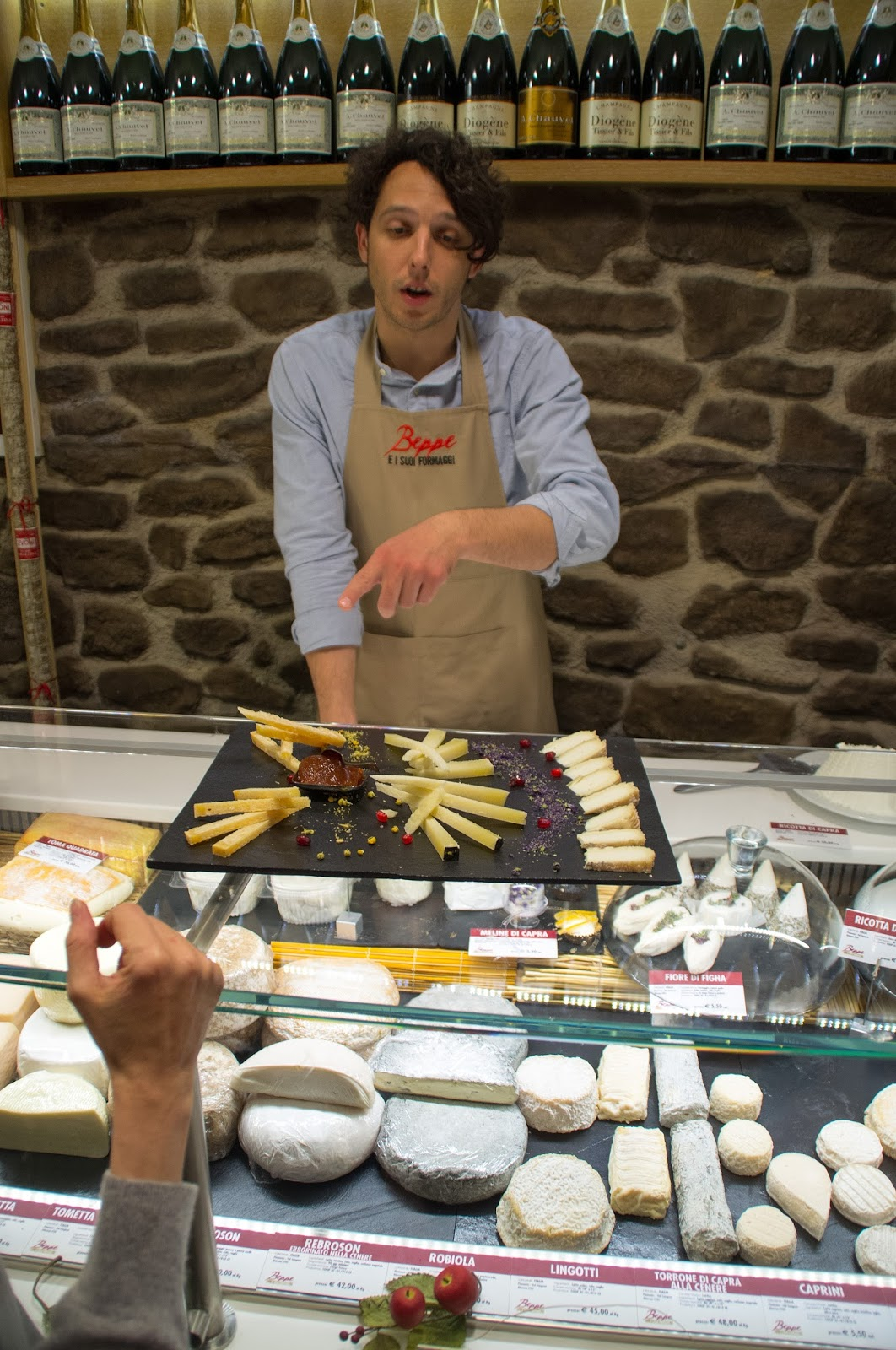 Cheese on Secret Food Tour Rome