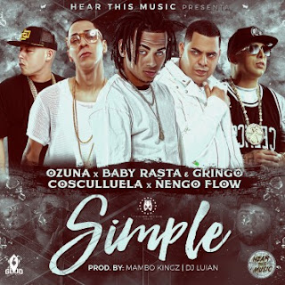 Cosculluela Ft. Ñengo Flow, Ozuna, Baby Rasta Y Gringo - Simple