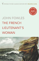Vintage edition book cover - The French Lieutenant's Wife by John Fowles
