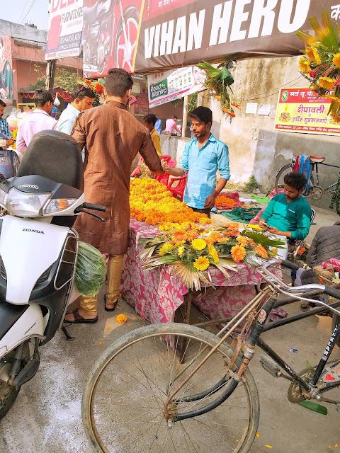 flowers,muzaffarnagr, shiv sangal, diwali