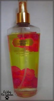 Victoria's Secret - Hello Darling nectarine blanche et pivoine - Brume Parfumée