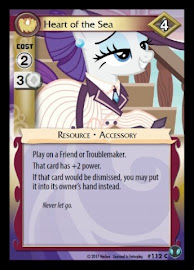 My Little Pony Heart of the Sea Defenders of Equestria CCG Card