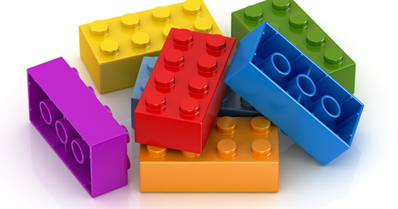Лего 6 цеглинок купити