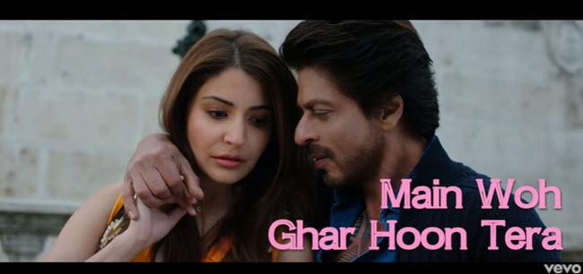 Ghar Lyrics - Mohit Chauhan & Nikhita Gandhi | Jab Harry Met Sejal (2017)