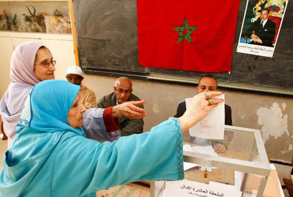 الانتخابات الجزئية ببرشيد  (ردوا للرجل فلوسو)