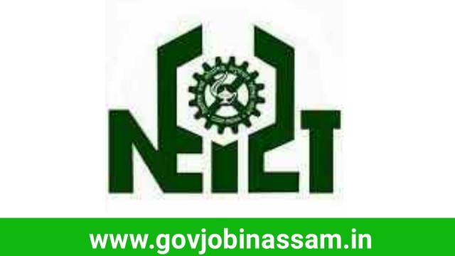 NEIST Jorhat Recruitment 2018