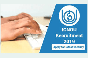 IGNOU Recruitment 2019: Applications Invited for 8 Junior Academic Associate Posts by jobcrack.online