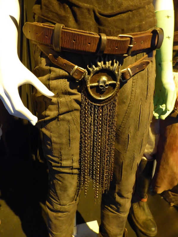Mad Max Fury Road Furiosa belt costume detail