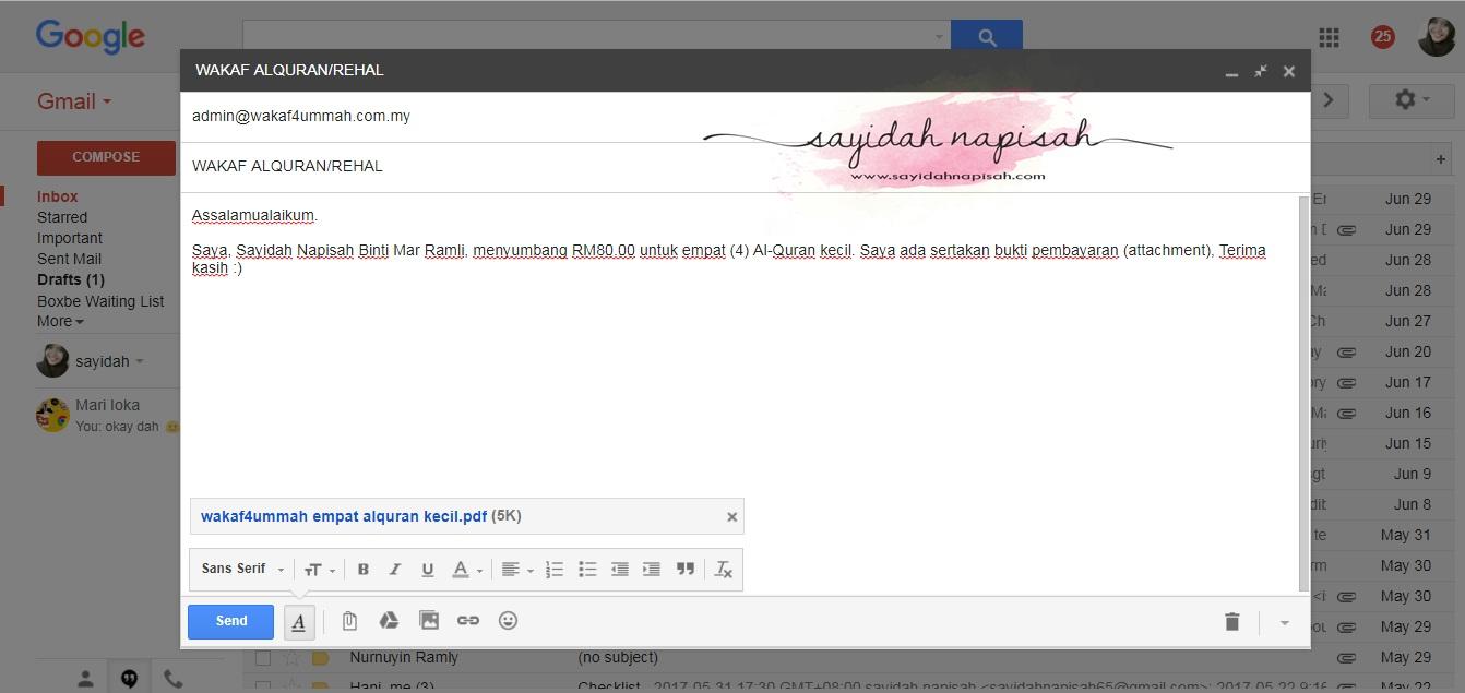 email wakaf4ummah