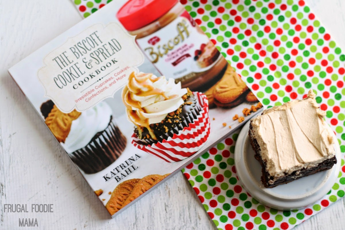 Biscoff Gingersnap Brownies recipe + a The Biscoff Cookie and Spread Cookbook Giveaway!