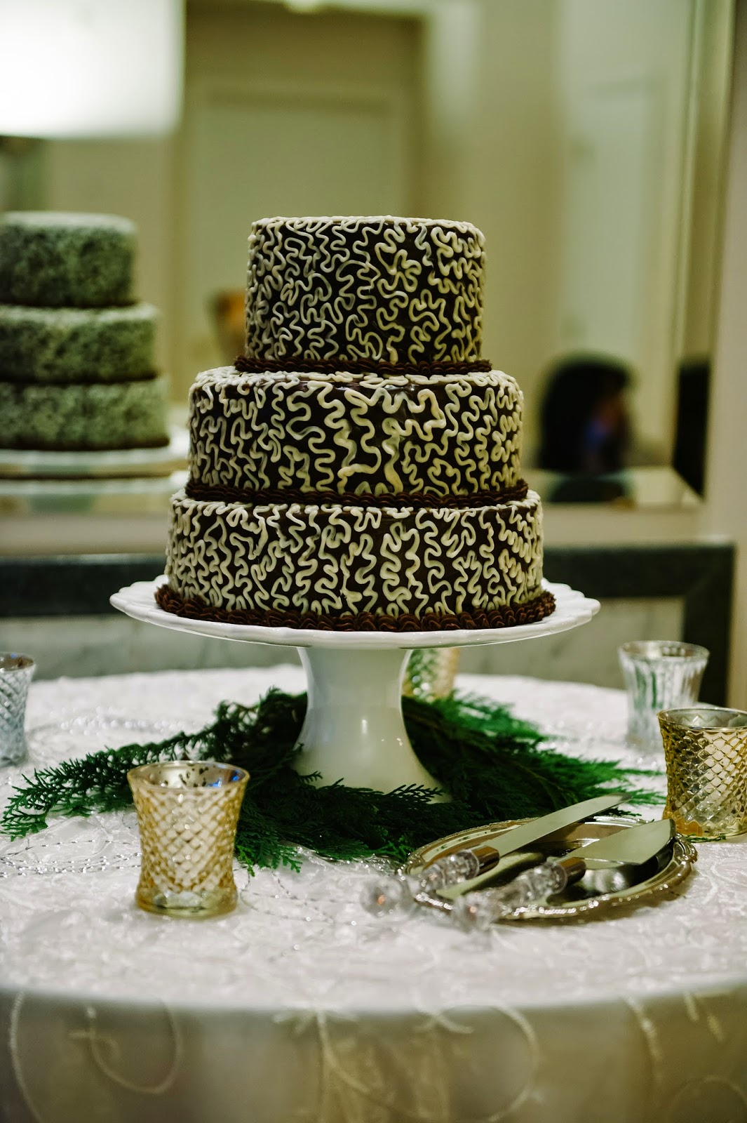 Gluten-Free Dessert Chocolate Wedding Cake