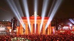 la soirée de la Saint-Sylvestre à Berlin
