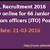 MTNL Recruitment 2016 Apply online for 66 Junior Telecom officers (JTO) Posts