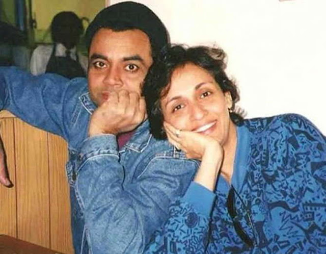 Paresh Rawal with wife