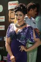 Iniya in a deep neck gown super cute beauty at IIFA Utsavam Awards press meet 27th March 2017 009.JPG