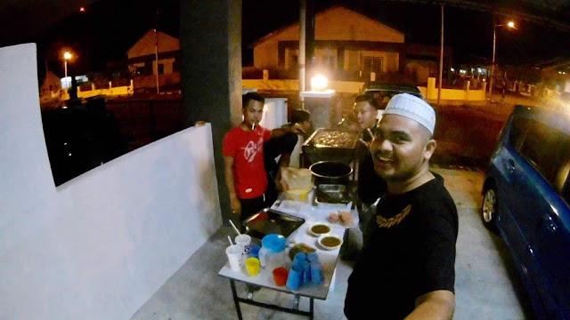 Adni Suite Homestay Seri Manjung || Encik Ahmad - BBQ 3