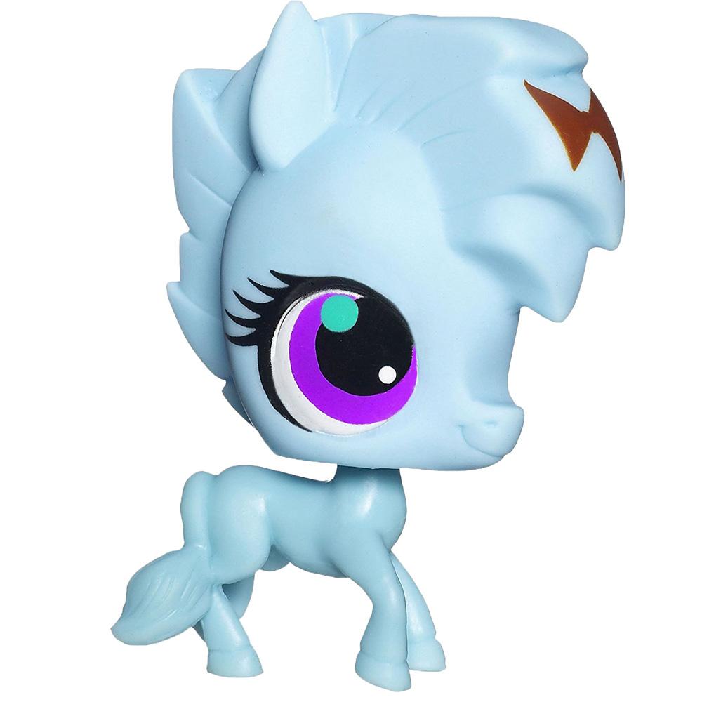 Littlest Pet Shop #3546 Aqua Blue Horse