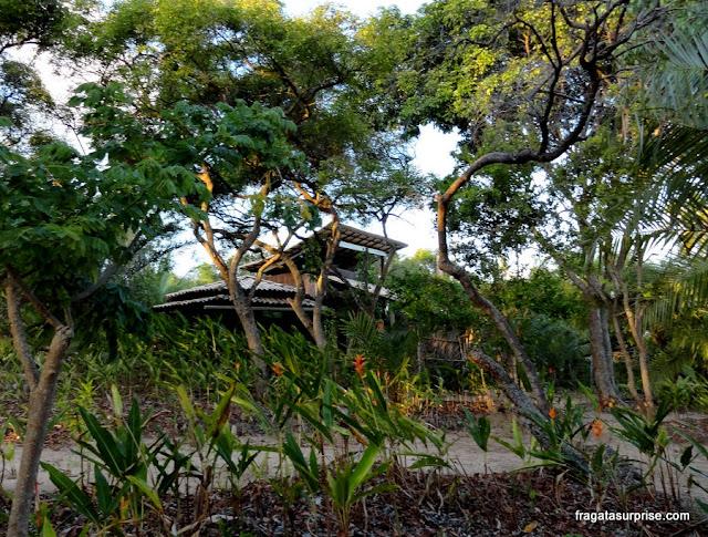 Hospedagem na Vila do Diogo: Um Chalé no Meu Jardim