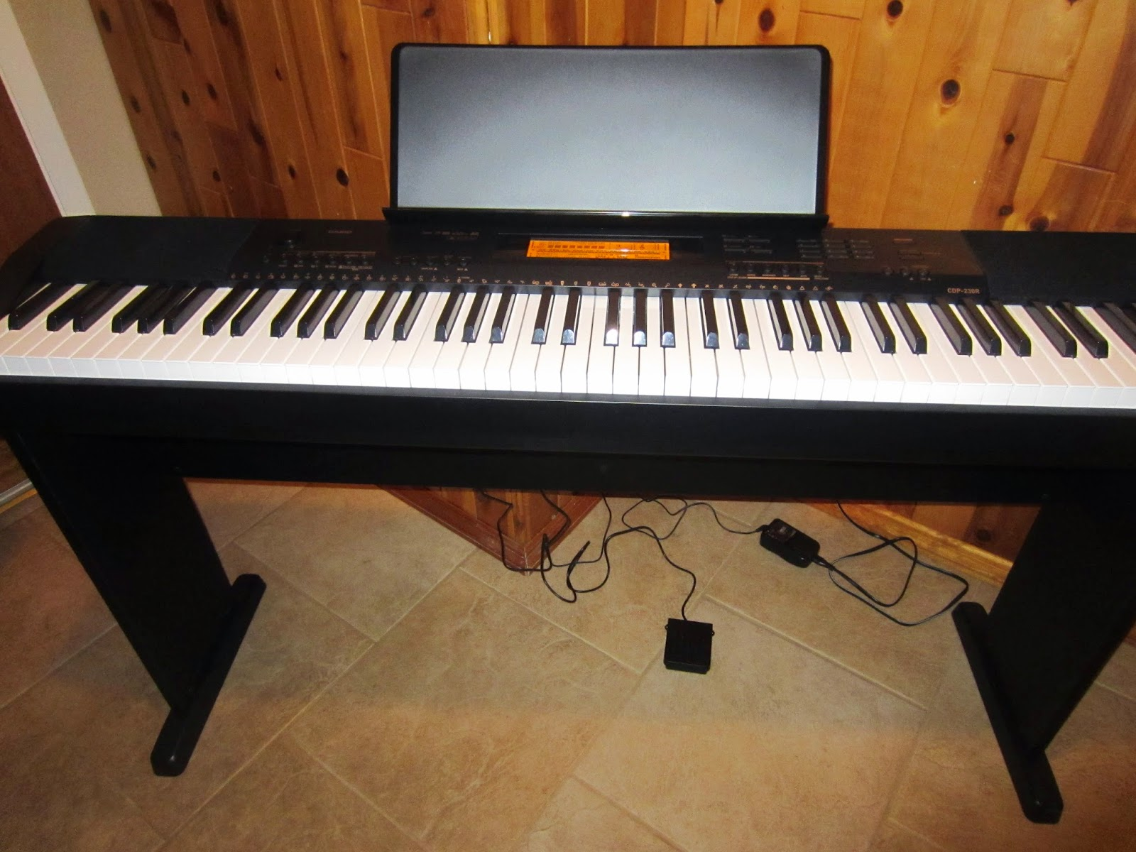 Casio CDP230R digital piano