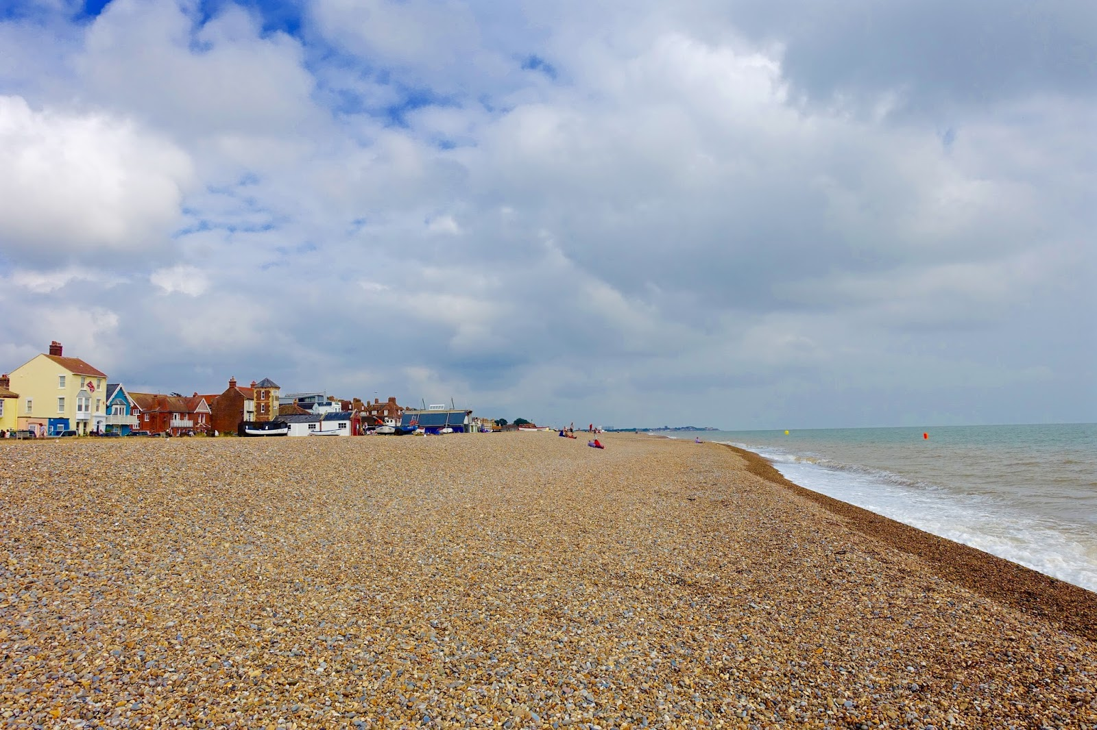 the coastal town of aldeburgh in suffolk