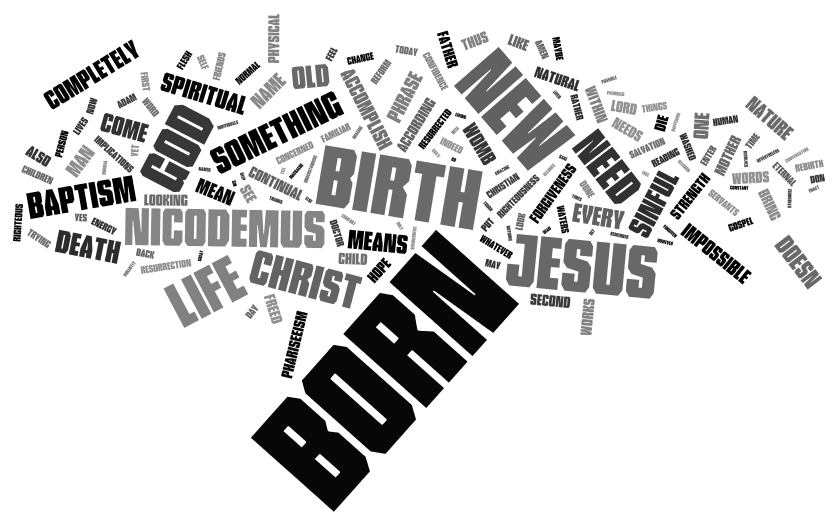 what must i do to be born again