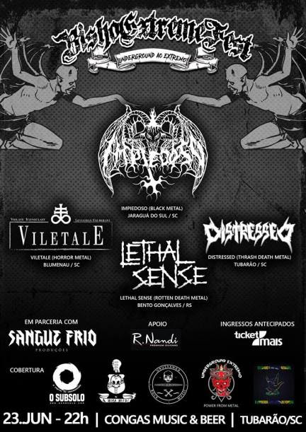 Bisho Extreme Fest: O Reino Infernal Sul Catarinense Clama Por Metal