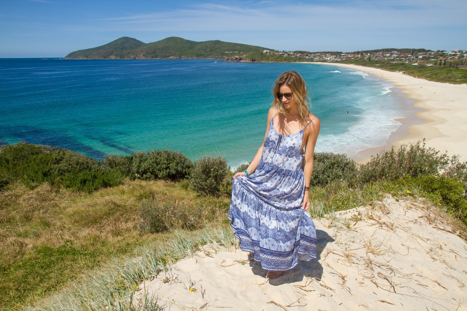 Fashion Blogger | Digital Nomad | One Mile Beach | Forster | Styling My Life | Alison Hutchinson | Somedays Lovin Dress