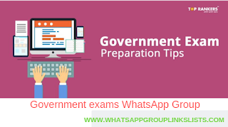 Join Indian Government Exam WhatsApp Group Links List