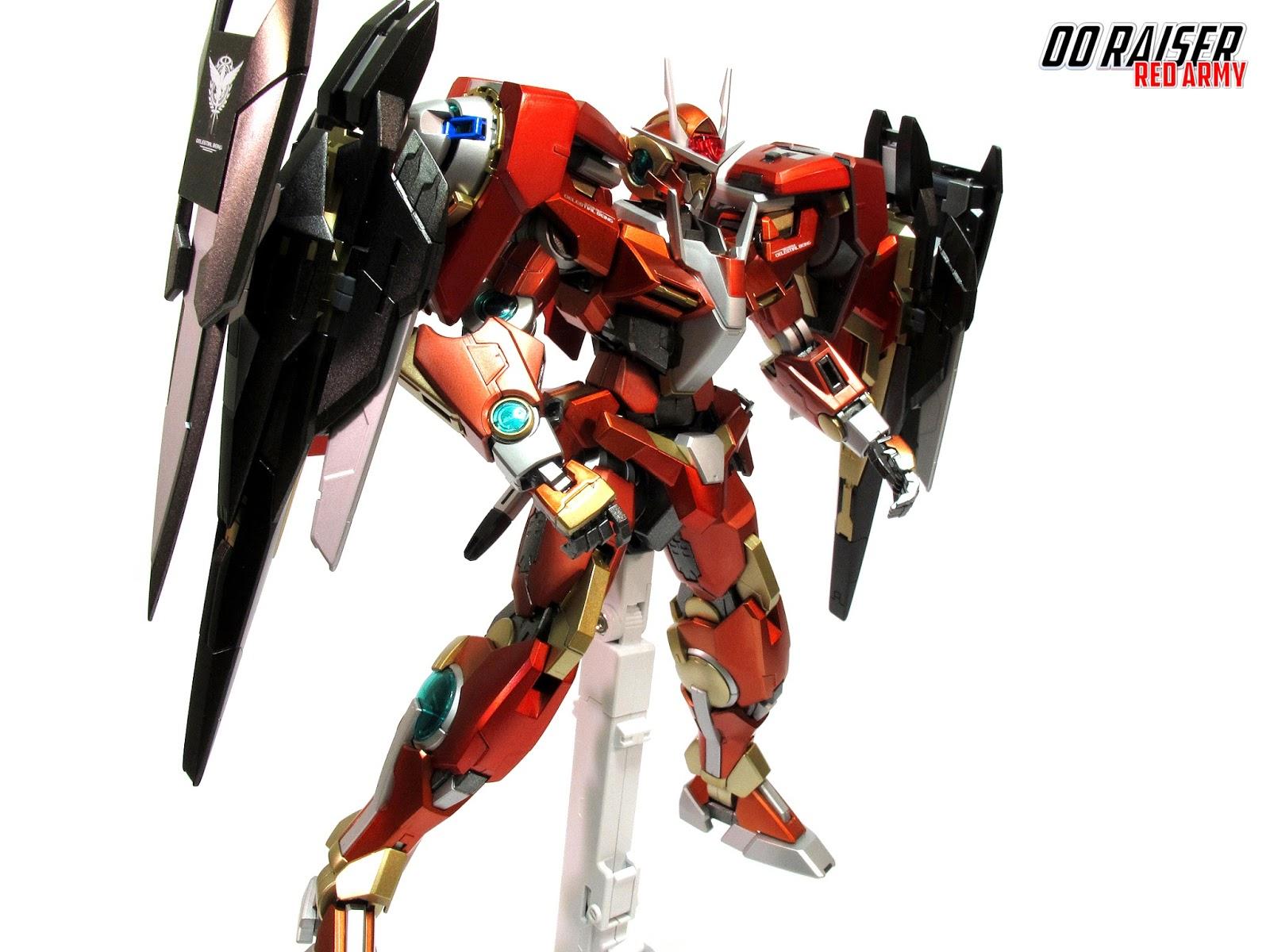 Red Army] Gundam 1 100 MG [Red Army] 00 Raiser