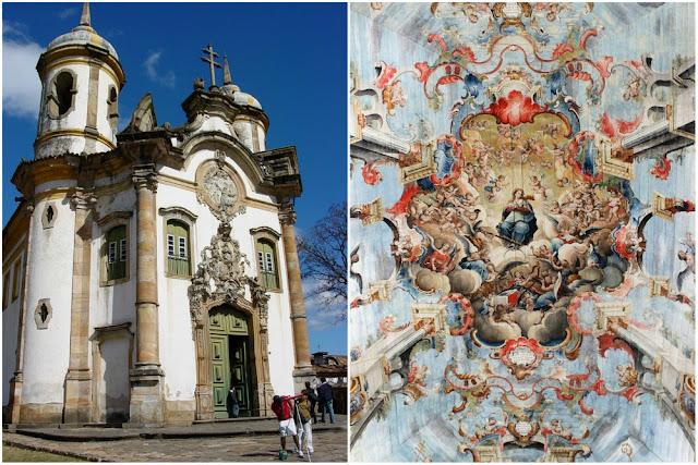 Top 5 igrejas para visitar em Ouro Preto - Igreja São Francisco de Assis