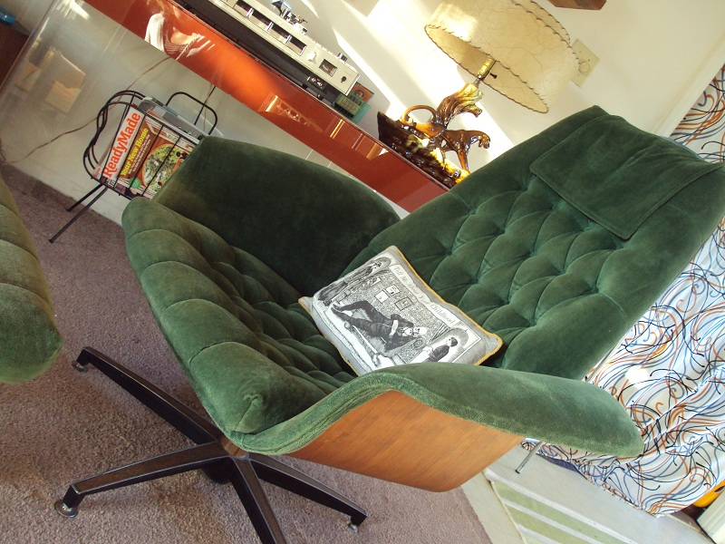 I Heart Everything The Big Green Chair O My Dreams
