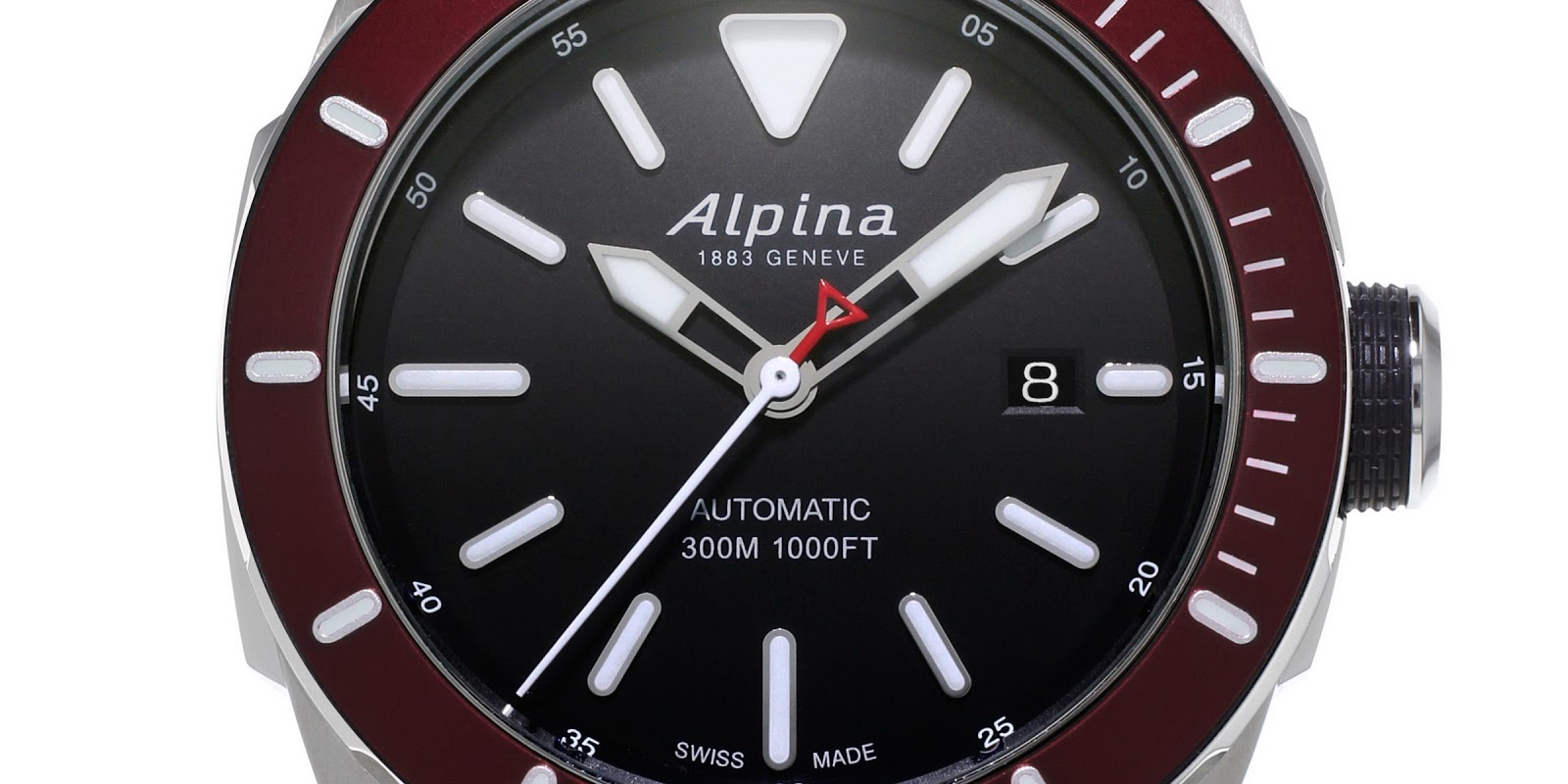 ALPINA Seastrong Diver AUTO Luxury Watches - Alpina diver watch