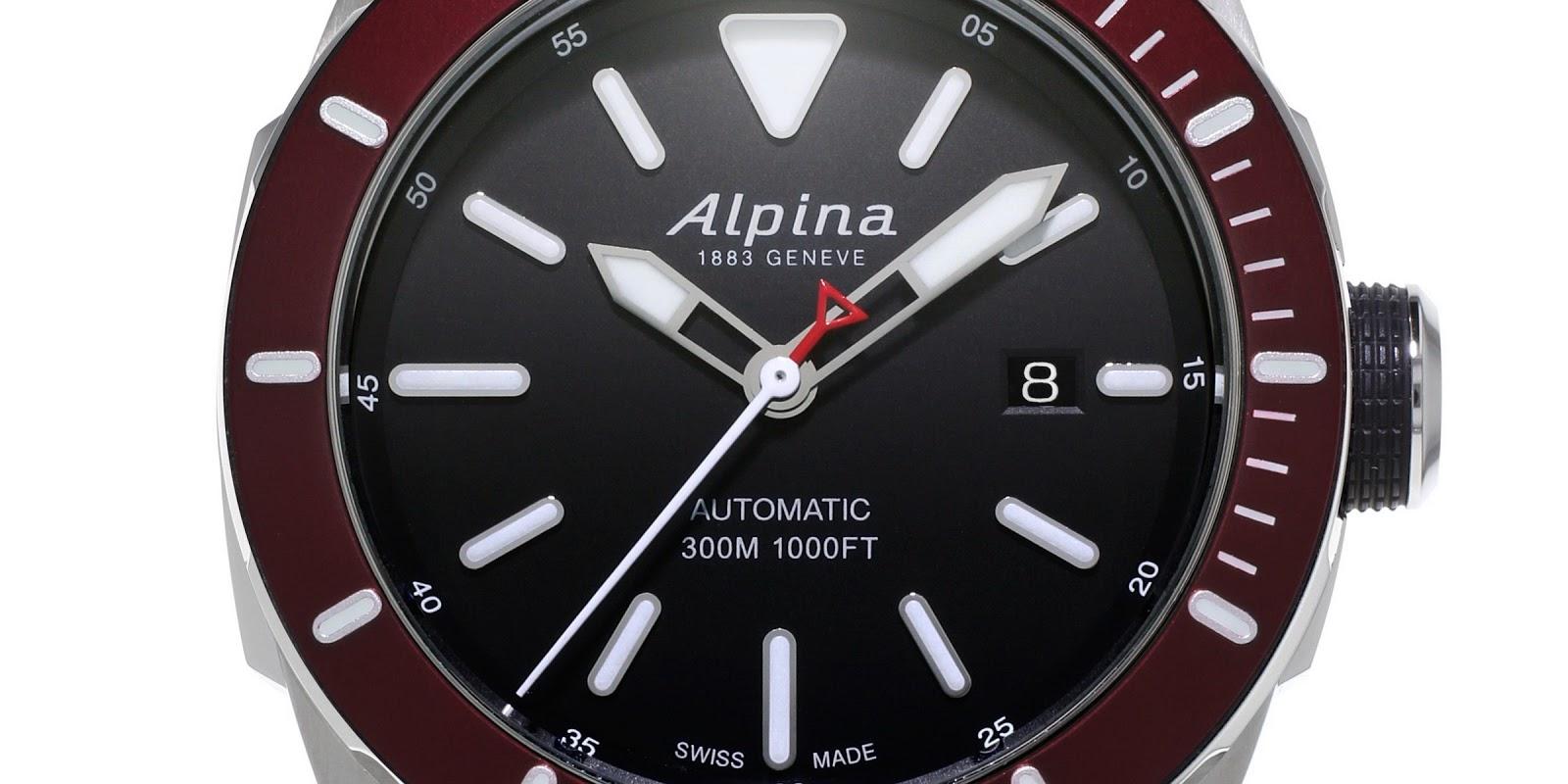ALPINA Seastrong Diver AUTO Luxury Watches - Alpina diver