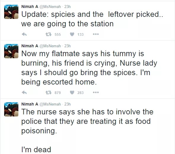 Nigerian Girl Living In US Lands In Serious Trouble After Giving Her White Flat Mate A Plate Of Pepper-soup (Photo)