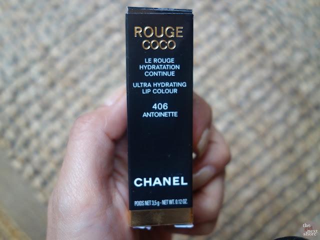 Lipstick Love: Chanel Rouge Coco 406 Antoinette