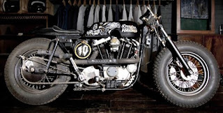 sportster ironhead drayton porkchop side right