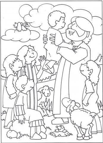 Infantil, la clase de Reli: Jesús ama a los niños