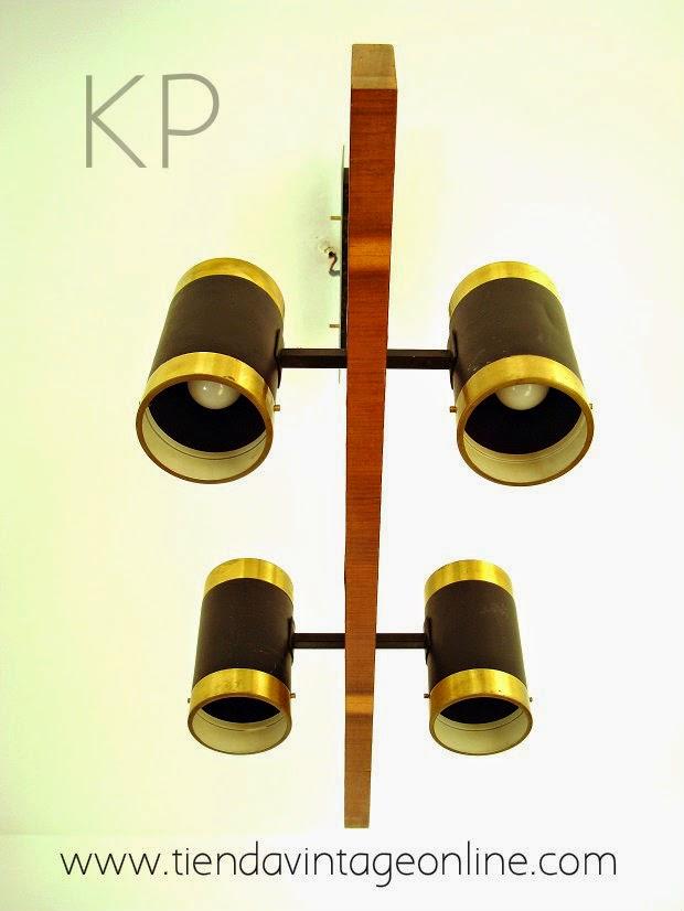 Lámparas colgantes de techo estilo vintage con varias bombillas