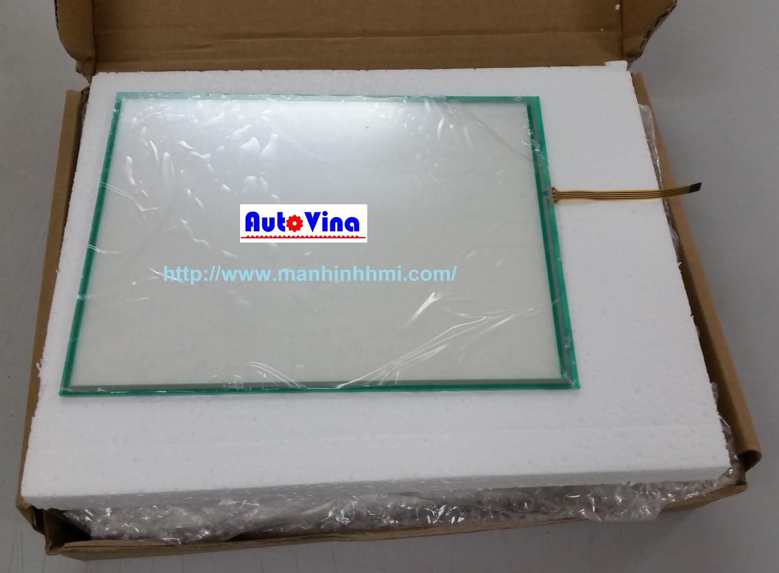 Sửa chữa, thay tấm cảm ứng - kính cảm ứng - lớp cảm ứng màn hình HMI hãng Mitsubishi GT12 series - GOT1000 - GT1275-VNBA