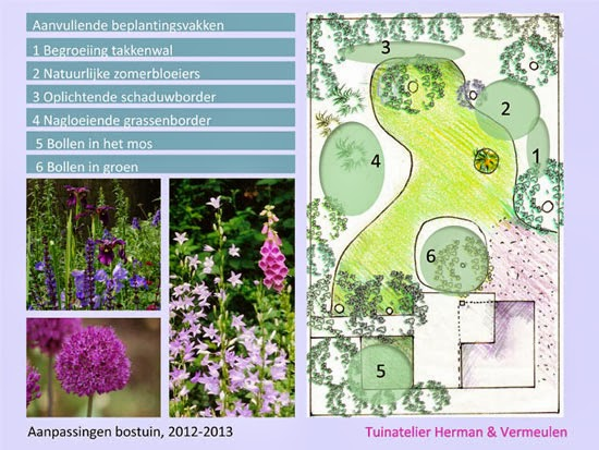 romantische tuin Tuinatelier Herman & vermeulen