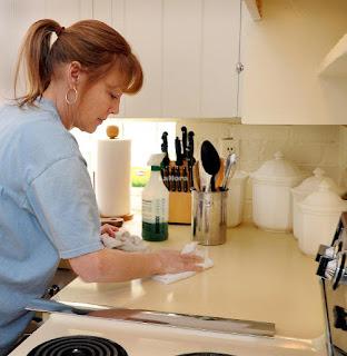 Tareas de limpieza en el hogar