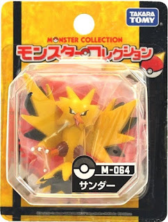 Zapdos  figure Takara Tomy Monster  Collection M series