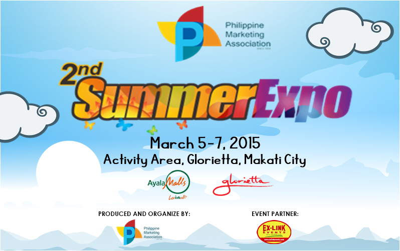 The PMA's 2nd Summer Expo Set in Glorietta